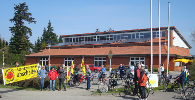 Anti-Atom-Demo in Marschacht