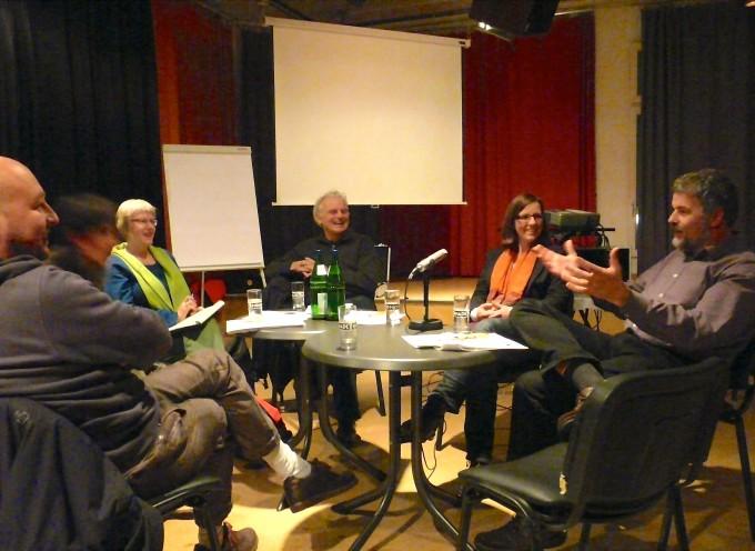 Diskussionsrunde mit Stefan Lübben